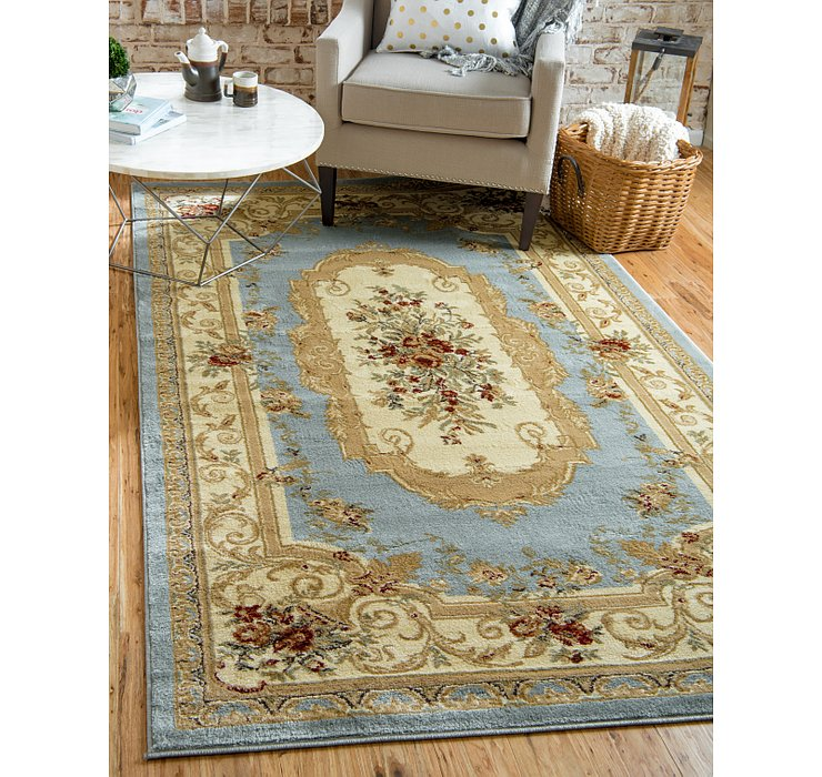 Light Blue Chateau Rug