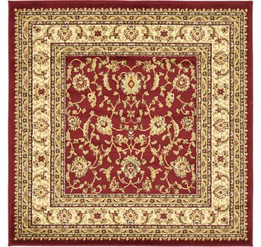 122x122 Classic Agra Rug