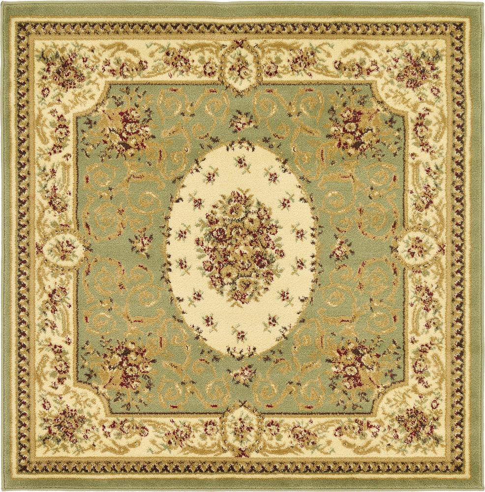 122x122 Classic Aubusson Rug Rugs Ca