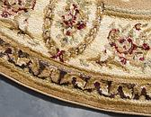 6' x 6' Classic Aubusson Round Rug thumbnail image 15