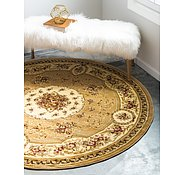 Link to 6' x 6' Classic Aubusson Round Rug