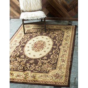 Link to 3' 3 x 5' 3 Classic Aubusson Rug page