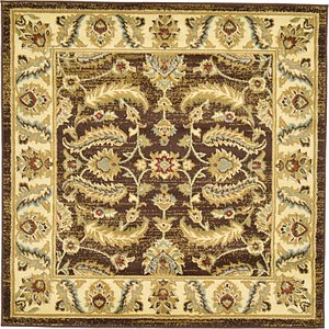 Link to 4' x 4' Classic Agra Square Rug page