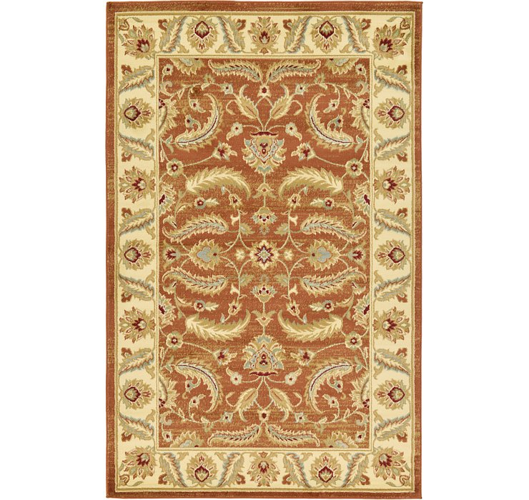 Brick Red Aditi Rug