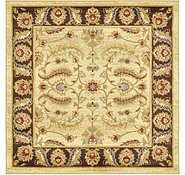 Link to Unique Loom 4' x 4' Agra Square Rug