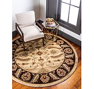Link to 8' x 8' Classic Agra Round Rug