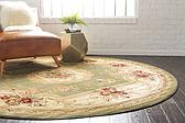 8' x 8' Classic Aubusson Round Rug thumbnail image 12