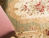 8' x 8' Classic Aubusson Round Rug thumbnail image 14
