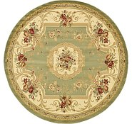 Link to 8' x 8' Classic Aubusson Round Rug