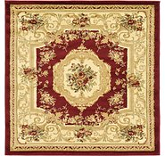 Link to Unique Loom 4' x 4' Versailles Square Rug