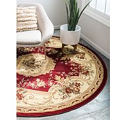 Link to Unique Loom 8' x 8' Versailles Round Rug
