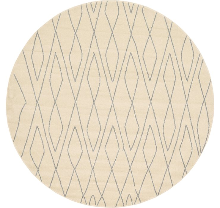 8' x 8' Tangier Round Rug