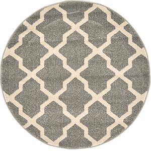 Link to 100cm x 100cm Trellis Round Rug page