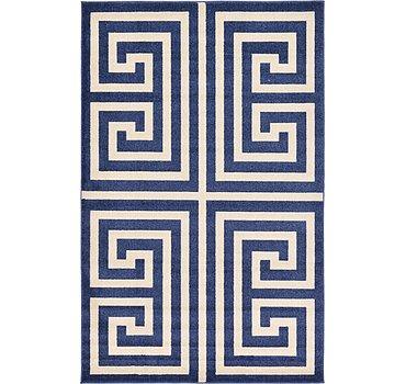 152x244 Greek Key Rug