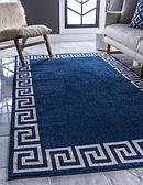 5' x 8' Greek Key Rug thumbnail image 1