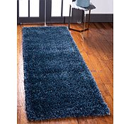 Link to Unique Loom 2' 7 x 10' Luxe Solo Runner Rug