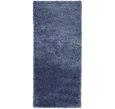 79x183 Luxe Solid Shag Rug