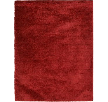 305x396 Luxe Solid Shag Rug