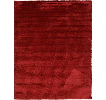 366x480 Luxe Solid Shag Rug