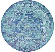 Link to 6' x 6' Aqua Round Rug