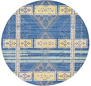 Link to Unique Loom 6' x 6' Aria Round Rug