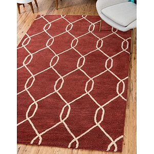 Unique Loom 3' x 4' 10 Trellis Rug