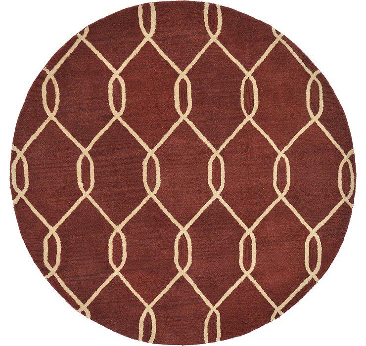 6' x 6' Lattice Round Rug