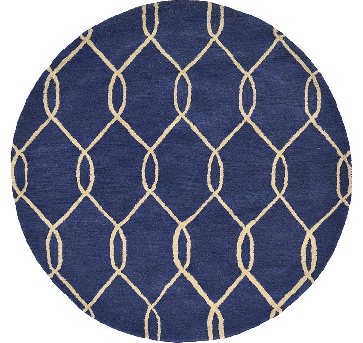 6' x 6' Trellis Round Rug