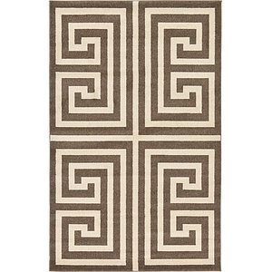 Link to 5' x 8' Greek Key Rug page