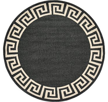 183x183 Greek Key Rug
