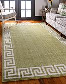 7' x 10' Greek Key Rug thumbnail image 1