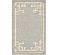 Link to 3' 3 x 5' 3 Greek Key Rug