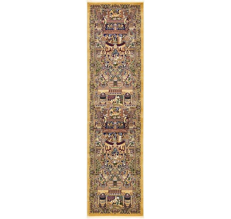 3' 3 x 13' Kashmar Design Runner Rug