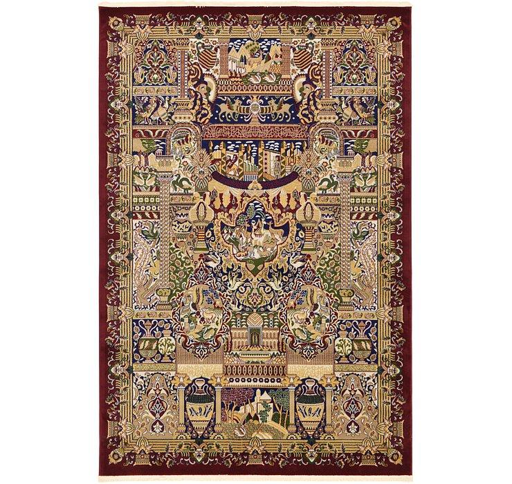 6' 7 x 9' 10 Kashmar Design Rug