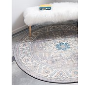 Link to Unique Loom 5' x 5' Salzburg Round Rug