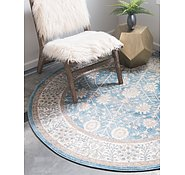 Link to Unique Loom 4' x 4' Salzburg Round Rug