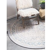 Link to Unique Loom 8' x 8' Salzburg Round Rug