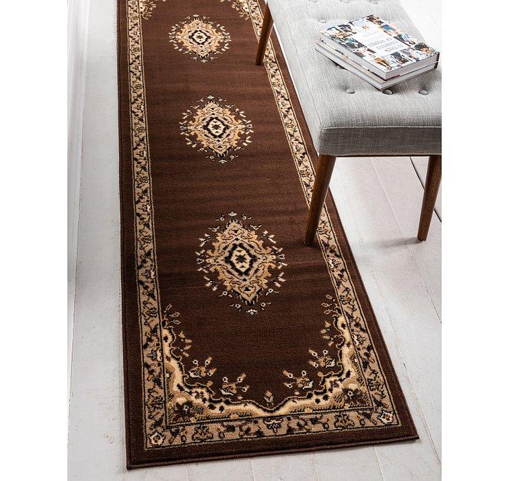 80cm x 305cm Mashad Design Runner Rug