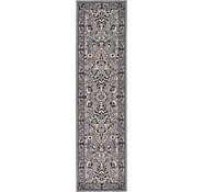 Link to 2' 2 x 8' 2 Kashan Design Runner Rug