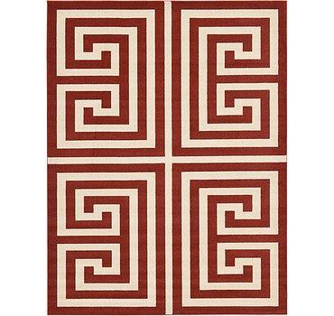 274x366 Greek Key Rug