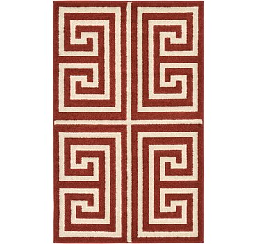 99x160 Greek Key Rug