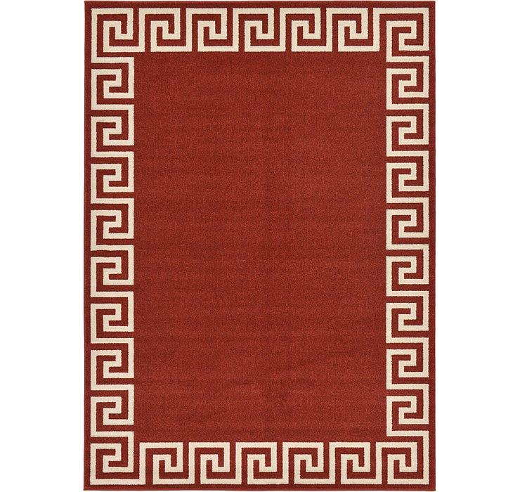 7' x 10' Greek Key Rug