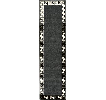 79x305 Greek Key Rug