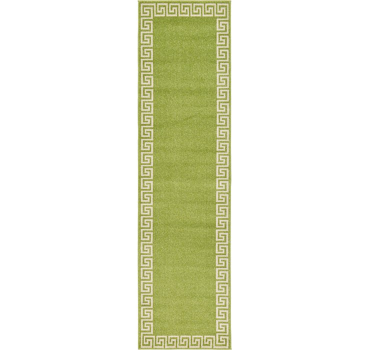 2' 7 x 10' Greek Key Runner Rug