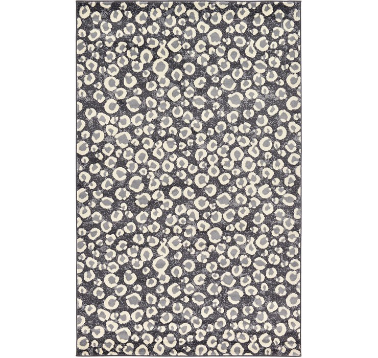 Dark Gray Savannah Rug