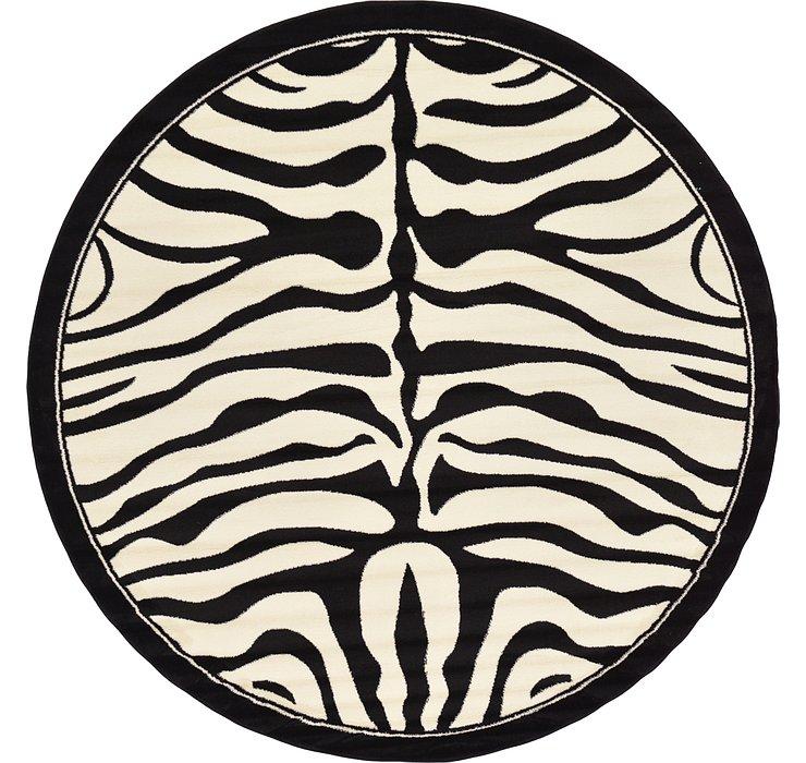 245cm x 245cm Safari Round Rug
