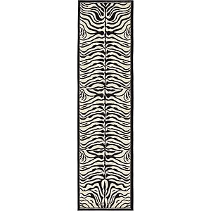 Unique Loom 2' 7 x 10' Wildlife Runner Rug