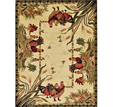 274x366 Country Rug