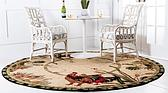 8' x 8' Country Round Rug thumbnail image 2