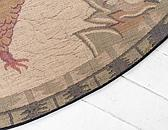 8' x 8' Country Round Rug thumbnail image 8